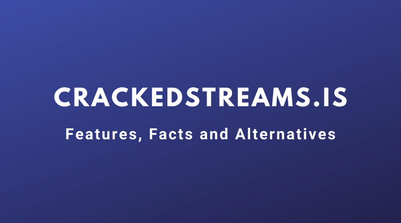 Crackedstreams.is features and alternatives