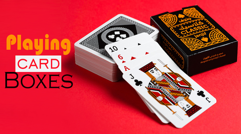 Why Retail Boxes are Beneficial for Playing Cards